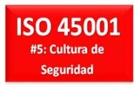 ISO 45001 Cultura de Seguridad